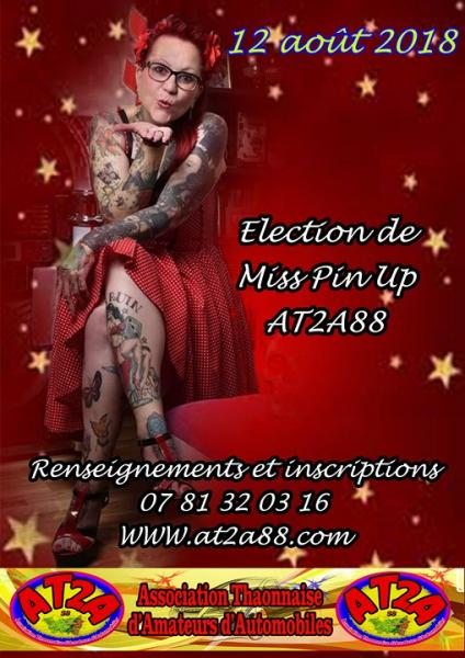 Affiche miss pin up 2018 copier