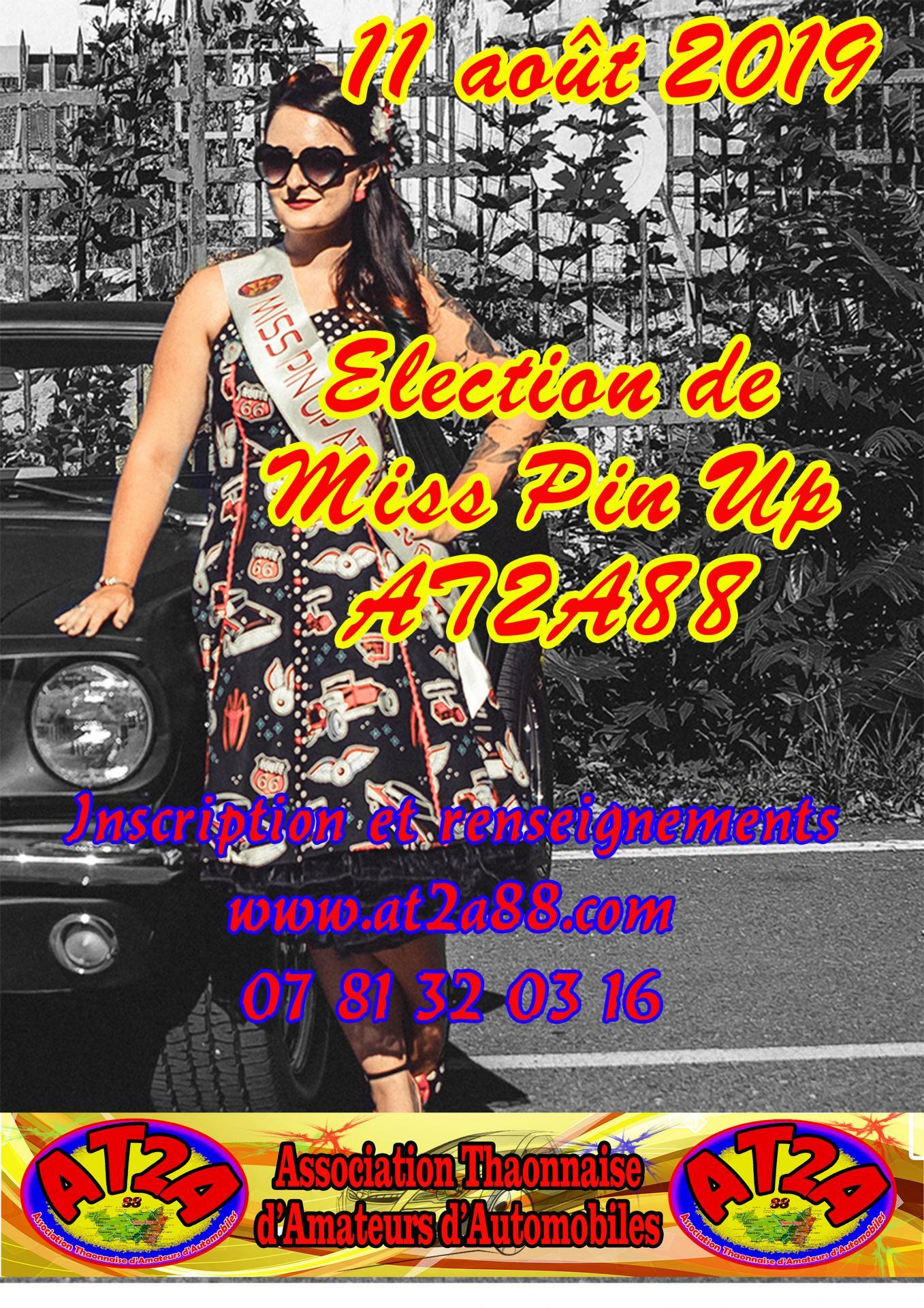 85910bb0305c Election de Miss Pin Up 2019